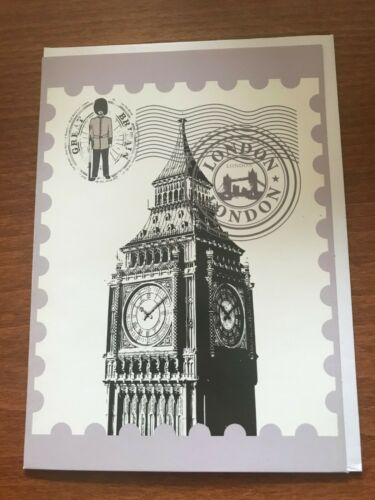 NEW Big Ben London Themed Greeting Card