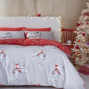 Christmas-Unicorn-Reversible-Duvet-Covers-by-Catherine-Lansfield