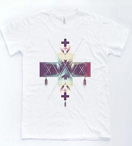 Hipster-Croix-Navajo-T-shirt-vintage-dreamcatcher-Tee-Blogger-Unisexe-Indie-Top