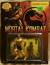 "GI Joe Mortal Kombat Johnny Cage Action Figure 3 3/4"" Hasbro 1994"
