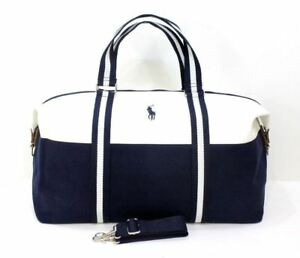4134eeab23 Image is loading RALPH-LAUREN-FRAGRANCES-BLUE-WHITE-WEEKEND-TRAVEL-HOLDALL-