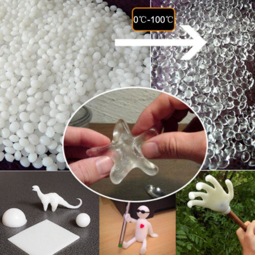 50g Polymorph Thermoplastic Moldable Plastic Pellet Craft Toy Ornament DIY Decor