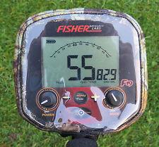 FISHER F19 METAL DETECTOR CONTROL BOX COVER -NEOPRENE CAMO