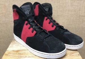 2 Westbrook Chaussures Haut Haut Pointure Daim 5 10 Qs Jordan Rouge Hommes 001 Noir 854563 0 tA0cg