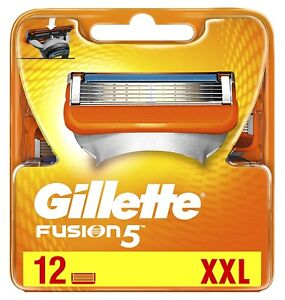 Gillette-Fusion-Rasierklingen-12er-Pack-Neu