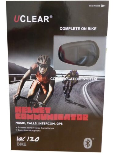 UClear HBC130 Fahrrad Gegensprechanlage Bluetooth Intercom Freisprecheinrichtung