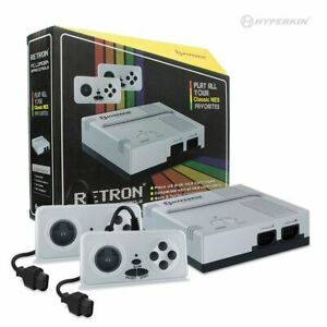 New Hyperkin Retron 1 Gaming Console for 8-Bit NES Game Cartridges (SILVER)