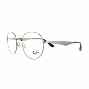 New Ray Ban Frames Titanium RETRO Round RX Eyeglasses RX6343 2595 47-19-140