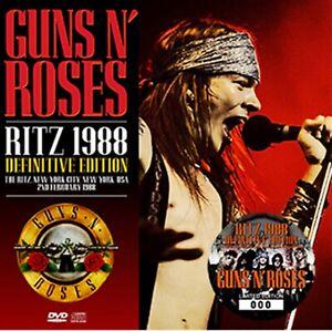 Guns-N-039-Roses-Ritz-1988-Definitive-Edition-3rd-1CD-2DVD-Set-30-Tracks-Hard-Rock