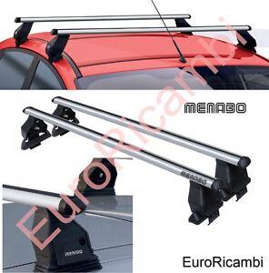 2007-2018 Dozer XL Menabo Aluminum Roof Bars for Acura RDX