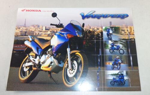 Prospetto prospetto foglio HONDA VARADERO 125 di 09//2000