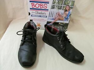 Skechers 7.5 M BOBS Chill Luxe Black