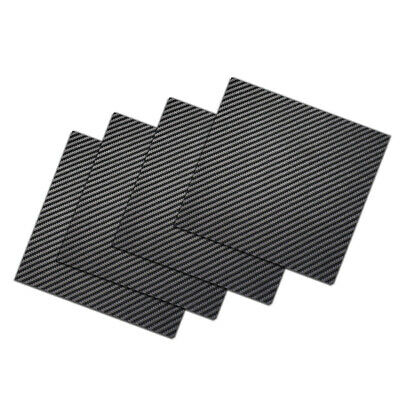 0.2//0.5//1//2//3mm Full Carbon Fiber plate panel sheet 3K plain weave lusterless