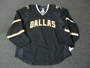 New Dallas Stars Pro Stock Reebok Edge 2.0 Blank Hockey Jersey ... e0b9e313a53