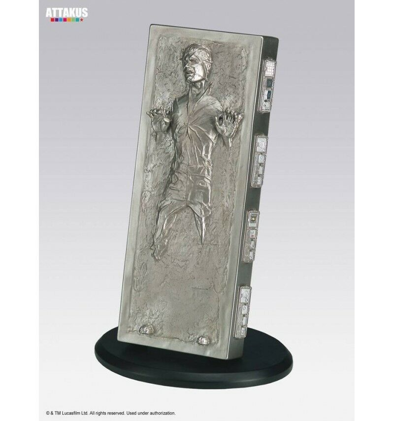 Attakus Star Wars Elite Sammlung statue Han Solo in Carbonite 18 cm