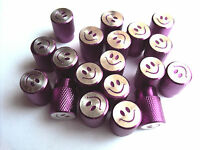 Alloy Smile Face Valve Caps Dust Cover Cycle Bike Bicycle MTB BMX Car Tyre Valve