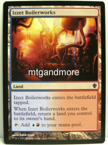 Magic Commander 2013-4x Izzet Boilerworks