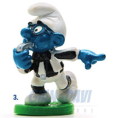 Attento Puffo Puffi Smurf Smurfs Schtroumpf 2.0191 20191 Brainy Referee Puffo Arbitro 3a Le Materie Prime Sono Disponibili Senza Restrizioni