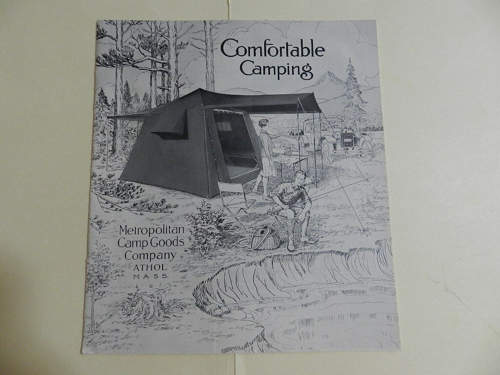 VINTAGE 1928  CAMP GOODS COMPANY CATALOG- VINTAGE OUTDOORS CATALOG- CAMPING  high discount