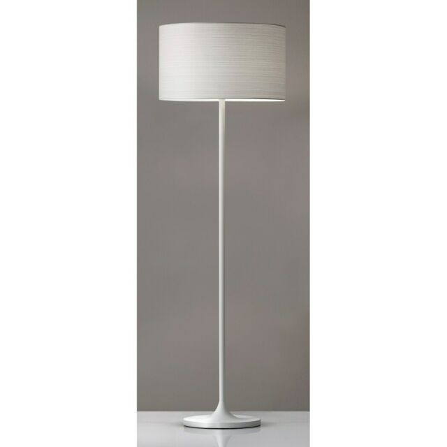Adesso Oslo White Floor Lamp White
