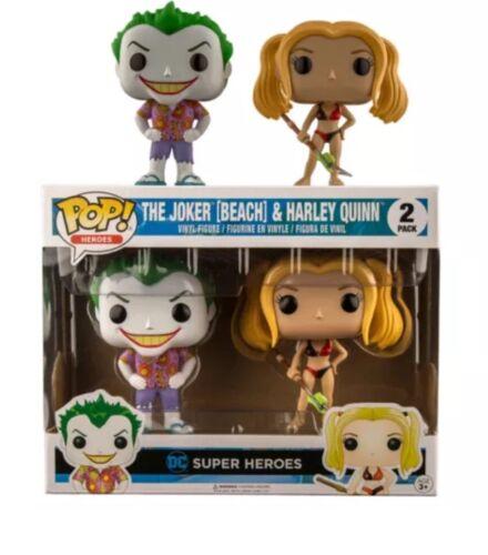 Joker And Harley Quinn Vinyl DC Funko Pop