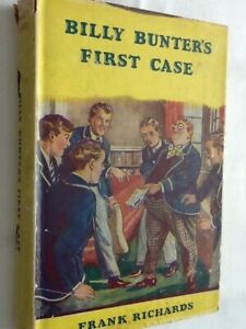 Billy-Bunter-039-s-First-Case-by-Frank-Richards-First-Edition-Hardback-1953