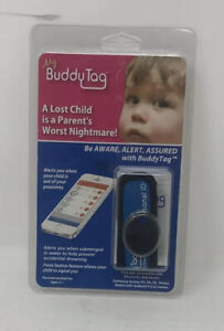 My Buddy Tag With Silicone Wrist Band Blue Red 859671004035 Ebay
