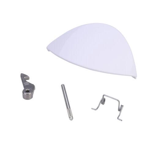 Blanc Poignée De Porte Kit Pour W101 W123 W113 WA115 Hotpoint Indesit machine à laver