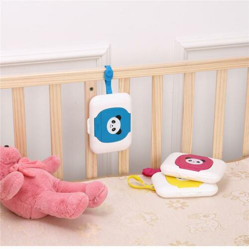 Travel Wipe Case Wet Wipes Box Changing Dispenser Storage Holder Baby Child SH