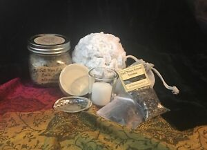 Auntie Thorne's Full Moon Ritual Bath Kit, Pagan, Wicca