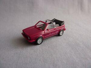 Wiking-VW-GOLF-I-CABRIO-039-Genesis-039-Cabriolet-violett-46-7-1-87-H0
