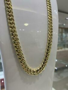 10K CUBAN LINK CHAIN 8.5MM 28 INCH 55.92 GRAMS WITH BOX LOCK Canada Preview