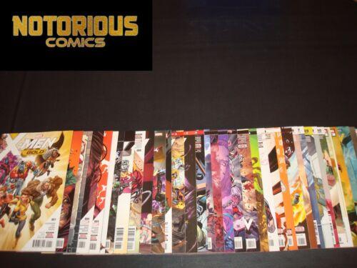 X-Men Gold 1-36 Complete Comic Lot Run Set Marvel Collection