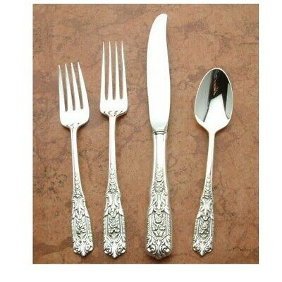 Milburn Rose by Westmoreland Sterling Silver 4pc Place Setting Modern Blade