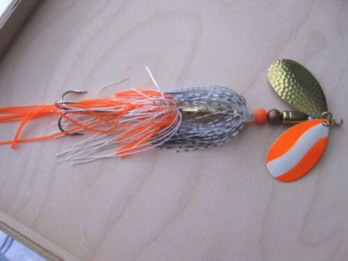 """Muskie /& N Pike  /""""OWB/""""  handmade inline spinner **"""