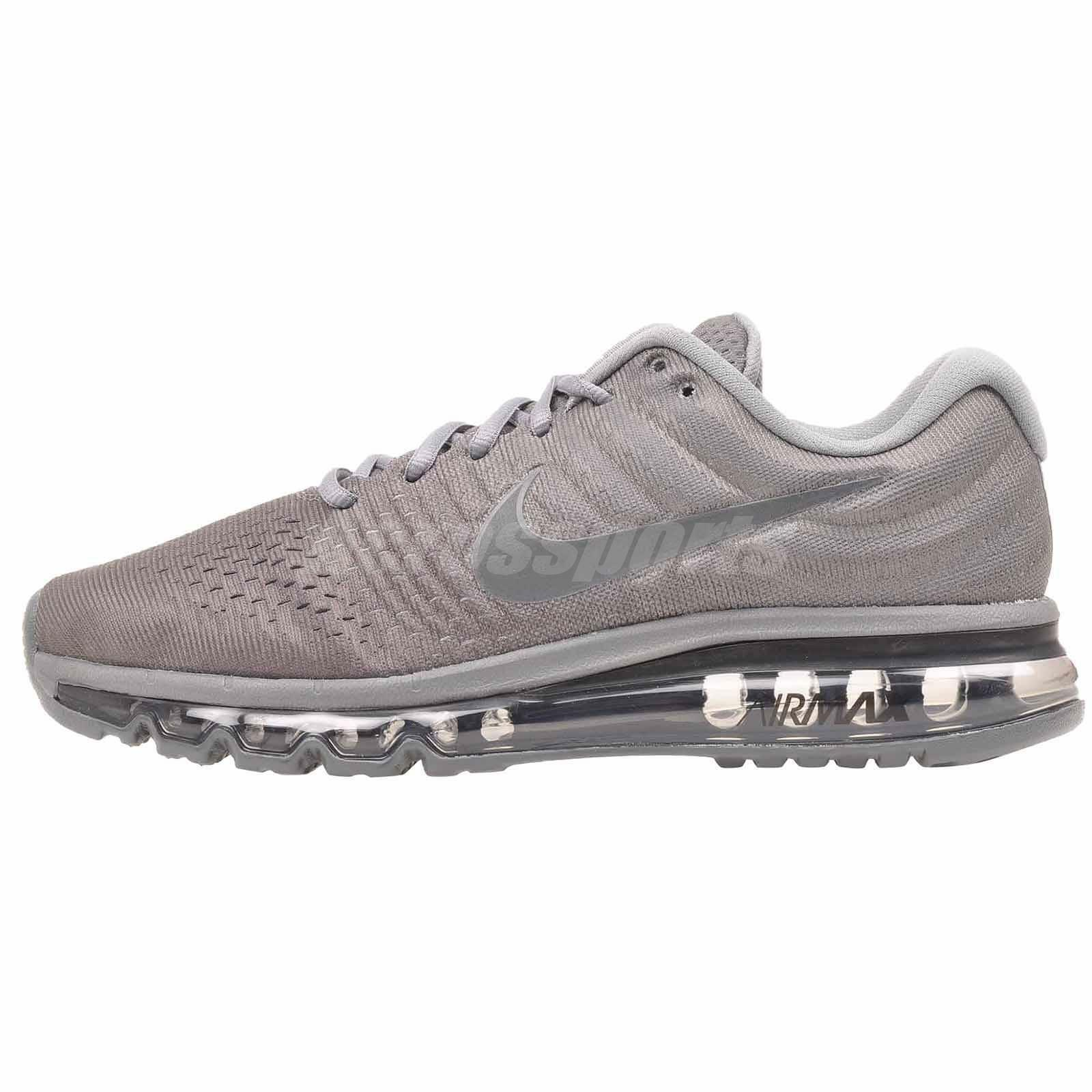 Nike Air Max 2017 Running Mens shoes Grey Anthracite 849559-008