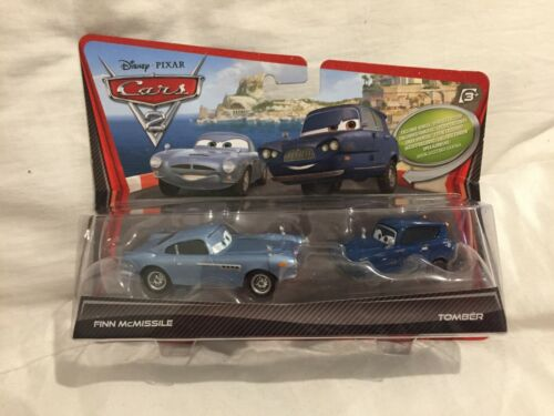 DISNEY PIXAR CARS 2 DOUBLE PACK MOVIE MOMENTS cardées Diecast 1:55 TOKYO DRIFT