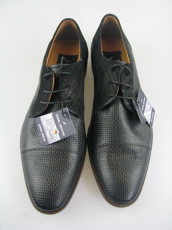 Daniel Hechter 811-21906 Business Schuh d.grau Leder Gr.42