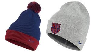 Caricamento dell immagine in corso Nike-FC-Barcelona-Cappellino-Invernale- Reale-Blu-con- f329327fa1aa