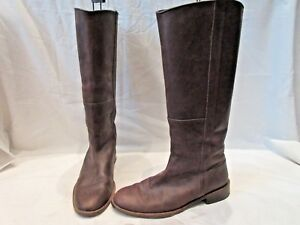 Brown Boden Uk Boots On Eu 1772 7 Leather High Calf 40 Pull HqBrT7dqw