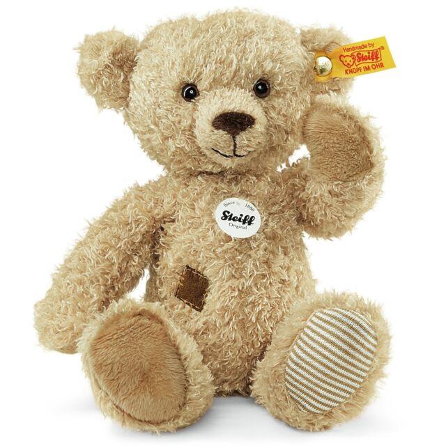 STEIFF Teddybär Theo beige mit Flicken 23 cm 023491 NEU  UVP 32,90 Euro