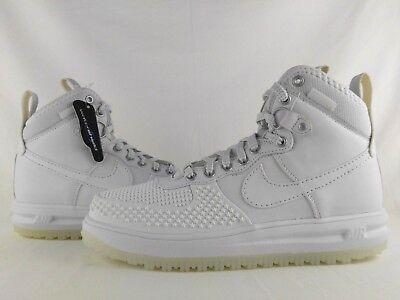 Nike Lunar Force 1 Duckboot 'Triple White' Release Date