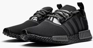 New-ADIDAS-NMD-R1-BOOST-athletic-sneaker-Mens-casual-Running-shoes-black-SIZE-10