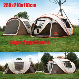 5-8 Personen Zelt Familienzelt Campingzelt Kuppelzelt Automatische Wasserdichte