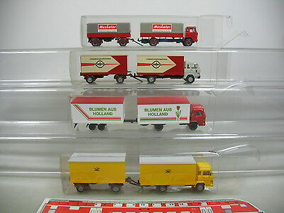Muskator flowers/holland confern Frank Ai704-1 #4x Wiking H0 Truck Magirus Post In Many Styles