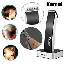 Tondeuse set rasoir barbe cheveux acier inoxydable accu beauté AEG HSM/R KEMEI