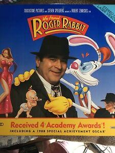 Letterbox Cav Laser Disc Who Framed Roger Rabbit 2 Disc Set 12257940169 Ebay