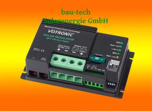 Votronic solaire contrôle de charge mpp350//21 soluciones//12 V//350 W MPPT Régulateur