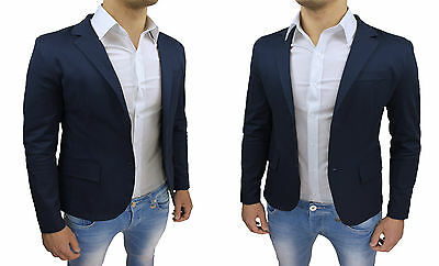 Giacca uomo Sartoriale rosso slim fit blazer doppiopetto 100/% made in Italy