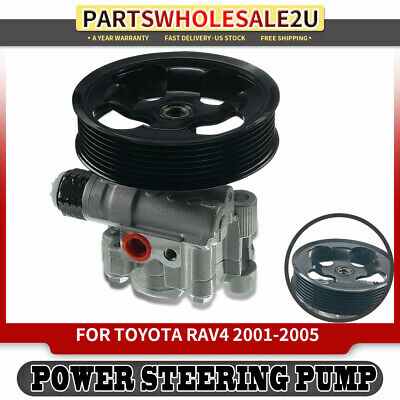 A-Premium Power Steering Pump with Pulley for Toyota RAV4 2001-2005